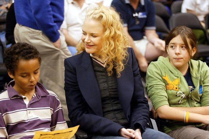 Ніколь Кідман з дітьми