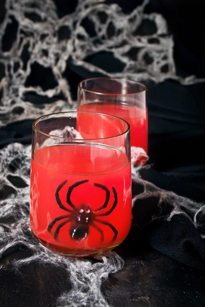 Кровавые коктейли на Хэллоуин