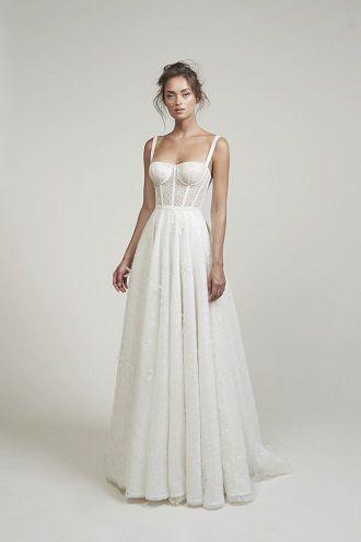 весільна сукня з корсетом