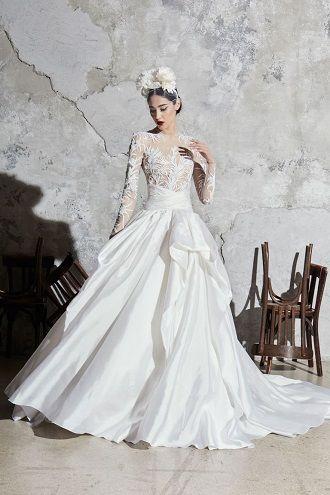 свадебные платья с кружевами