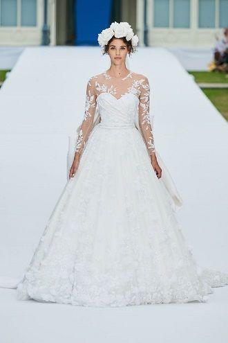 кружева на свадебных платьях