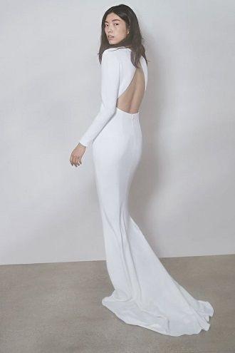 платье минимализм