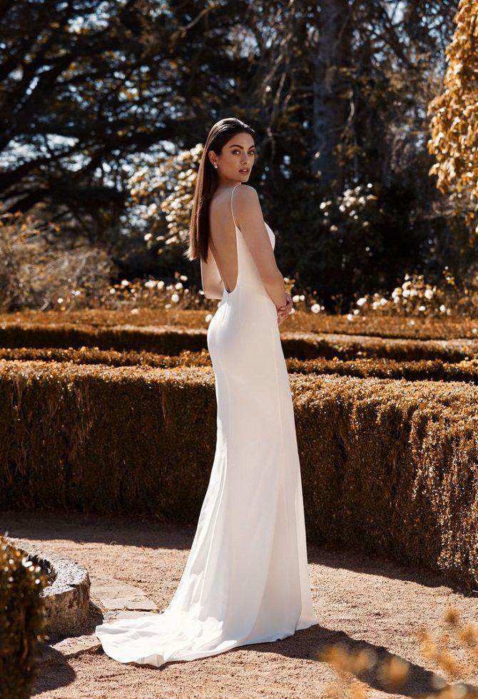 платье в стиле минимализм