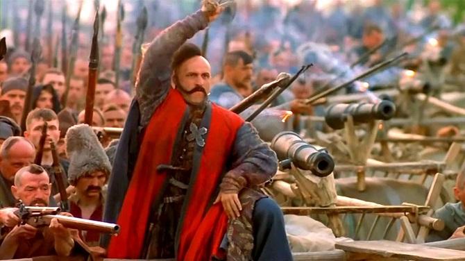 Кадр из фильма «Огнем и мечом» (1999)