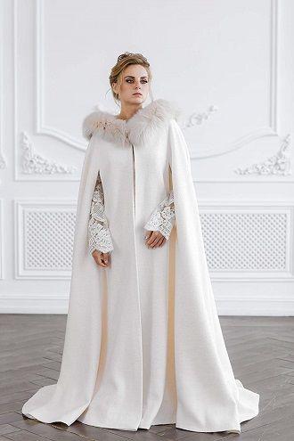 модное пальто невесты