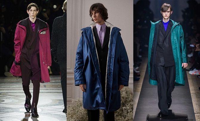 парка мужские куртки осень-зима 2019-2020