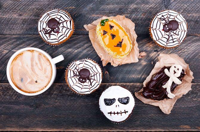 Печенье «Паутинка» на хеллоуин