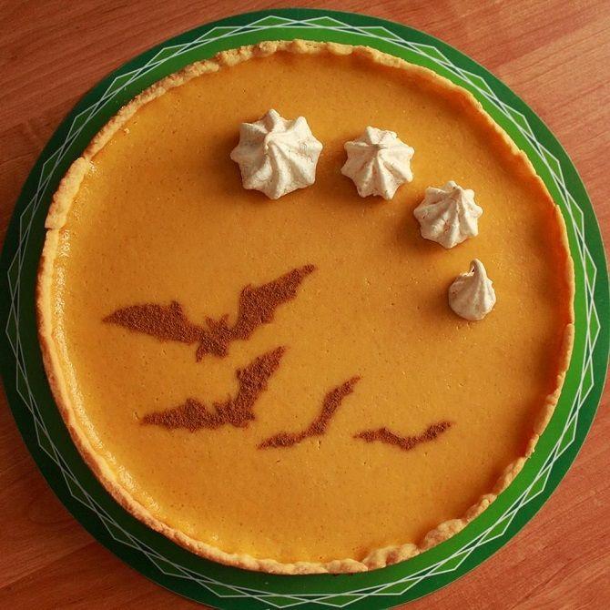 Тыквенный пирог на Хэллоуин