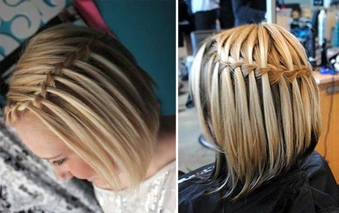Hairstyles for short hair for school simple and beautiful