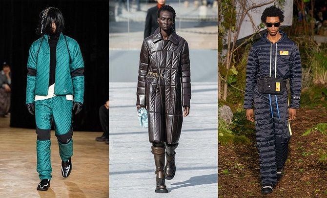 мужские стеганые куртки осень-зима 2019-2020