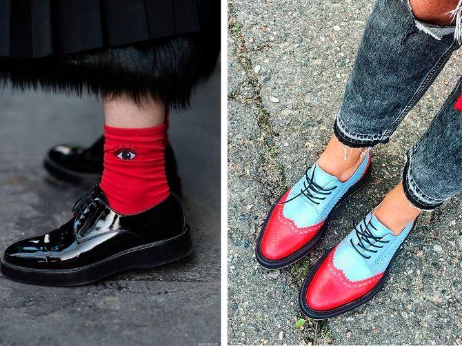 осенняя обувь без каблука 2019