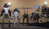 робот бостон динамикс