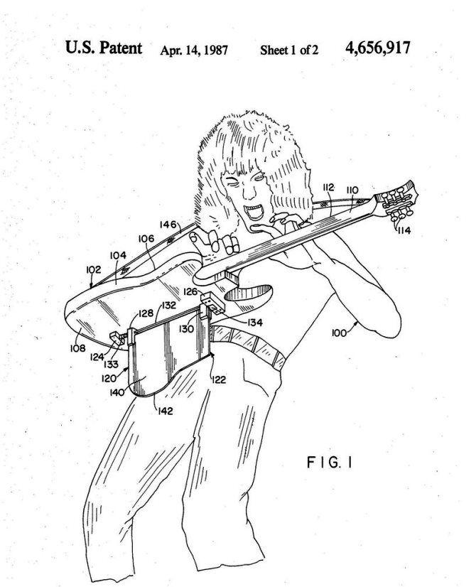 держатель для музыкальных инструментов ван халена