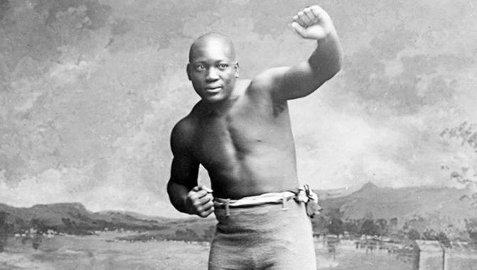 Джек Джонсон чемпион мира по боксу в супертяжелом весе