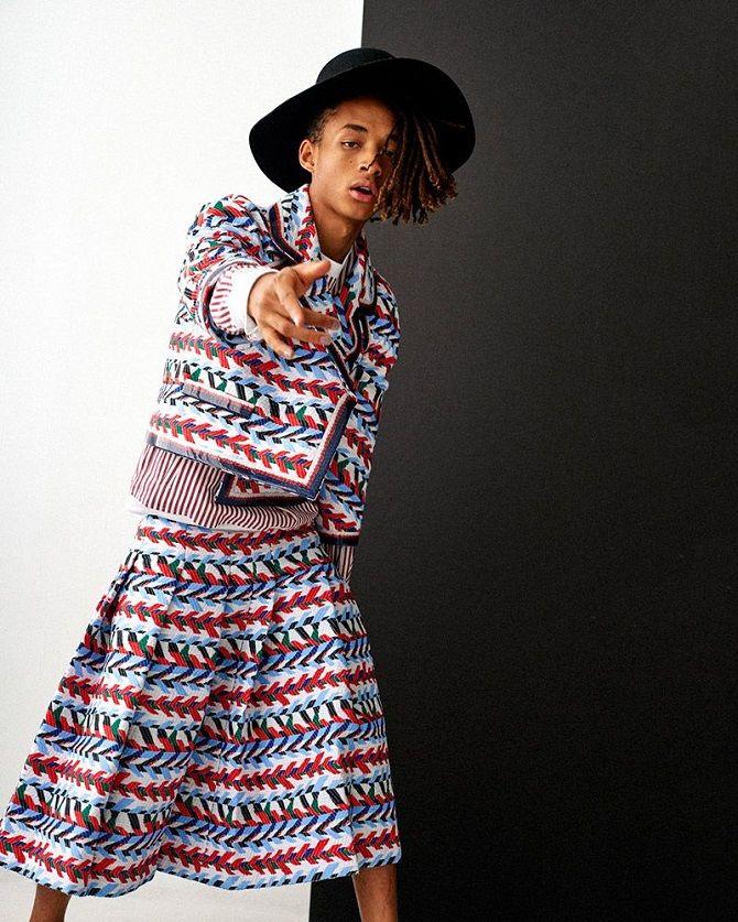 Джейден смит в платье