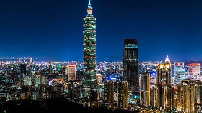 Самый быстрый лифт в башне ТайБэй