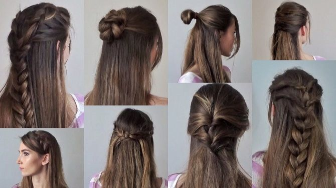 варианты причесок на длинные волосы