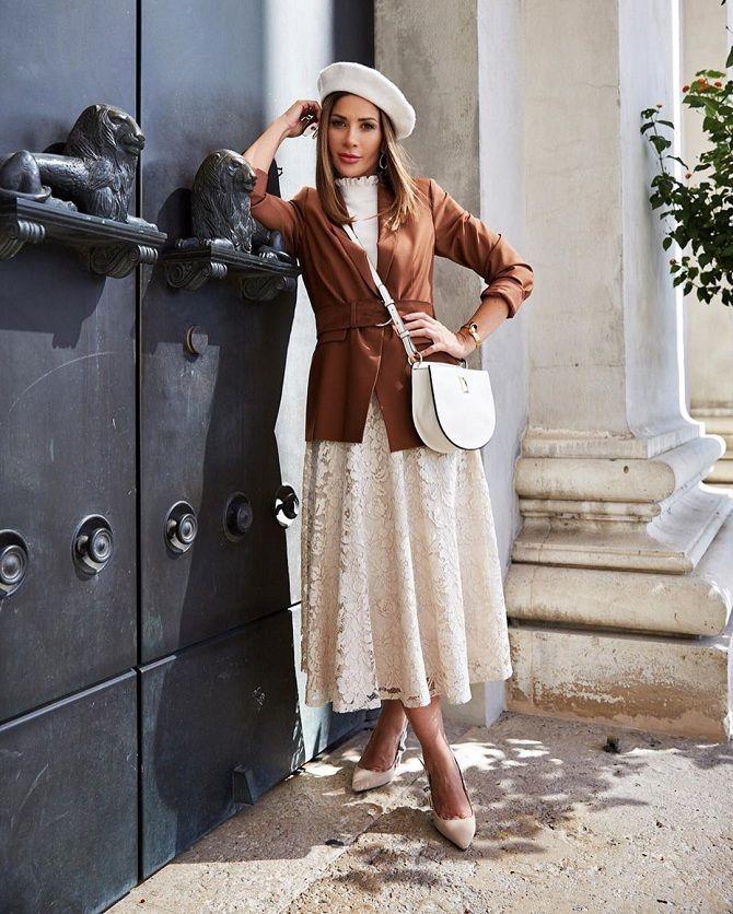 Все тільки починається: 40 модних осінніх образів 2020 року для жінок після 40 3