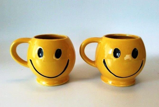 чашки смайли