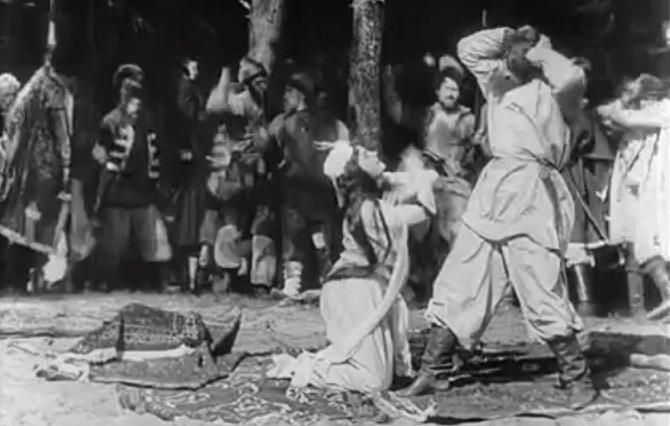 фильм Понизовая вольница, 1908