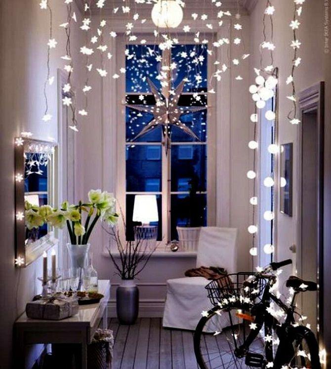 Як прикрасити кімнату на Новий рік 2021: кращі ідеї новорічного декору 3