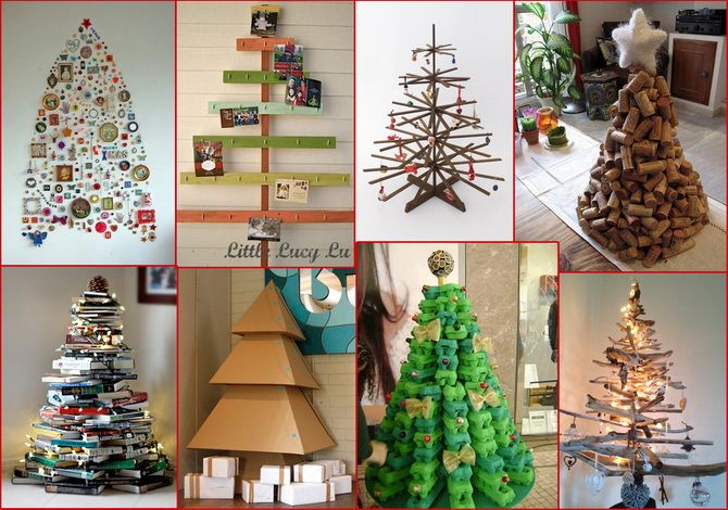 новогодняя елка своими руками +на конкурс