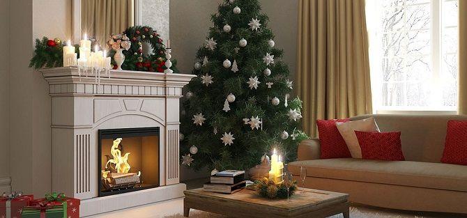 Как украсить комнату на Новый год 2021: лучшие идеи новогоднего декора 8