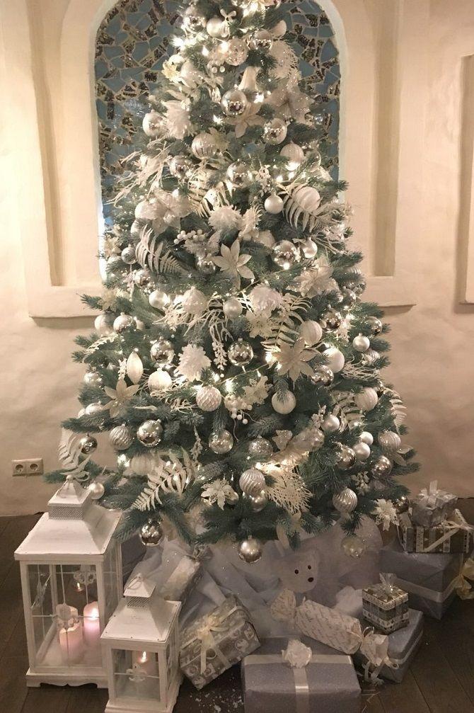 украшенные елки фото