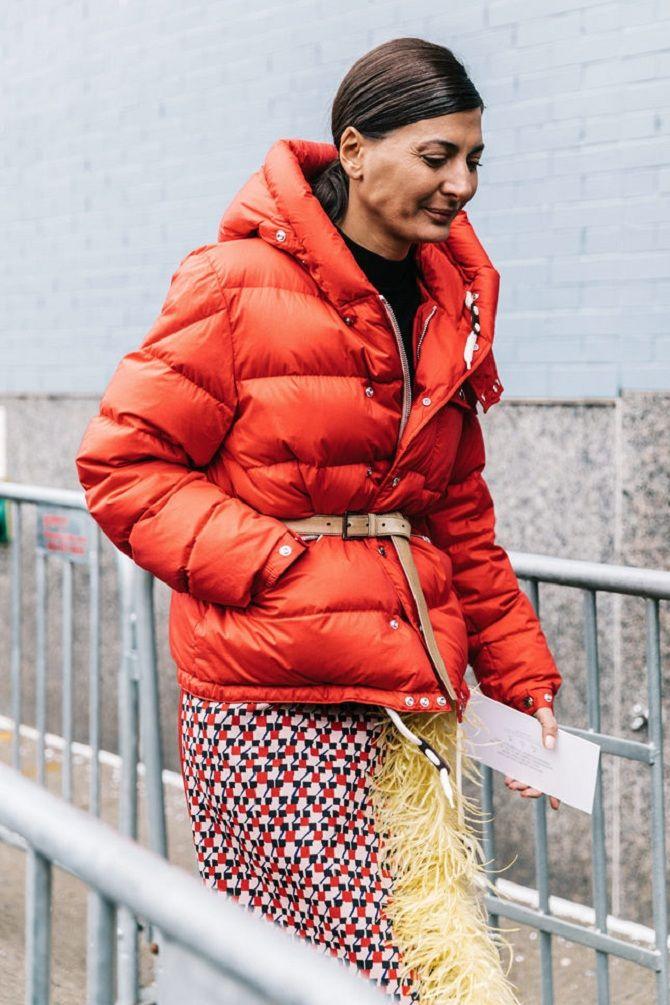 модные оттенки пуховиков на зиму 2019-2020