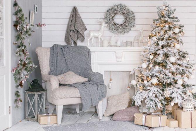 Як прикрасити кімнату на Новий рік 2021: кращі ідеї новорічного декору 10
