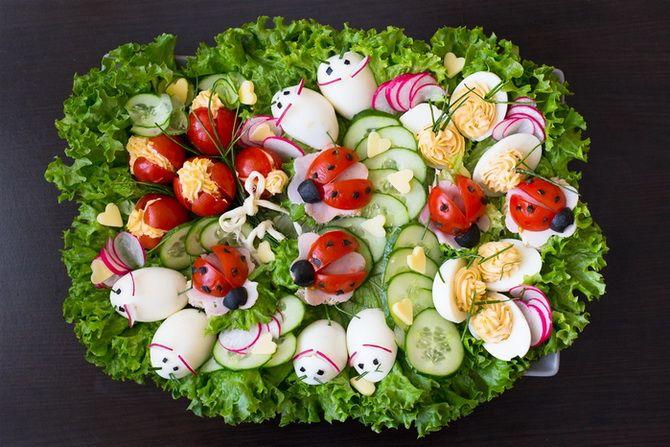 Как украсить салат на Новый год 2020