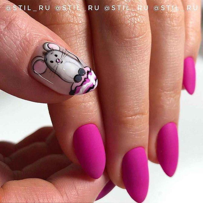 дизайн нігтів на новий рік