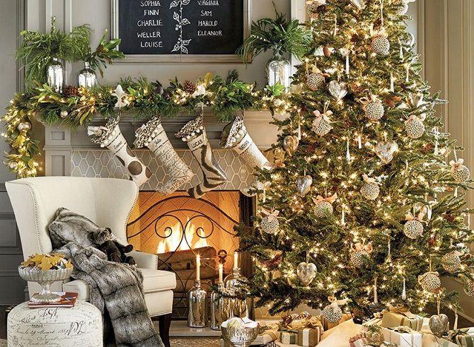 Как украсить комнату на Новый год 2021: лучшие идеи новогоднего декора 12