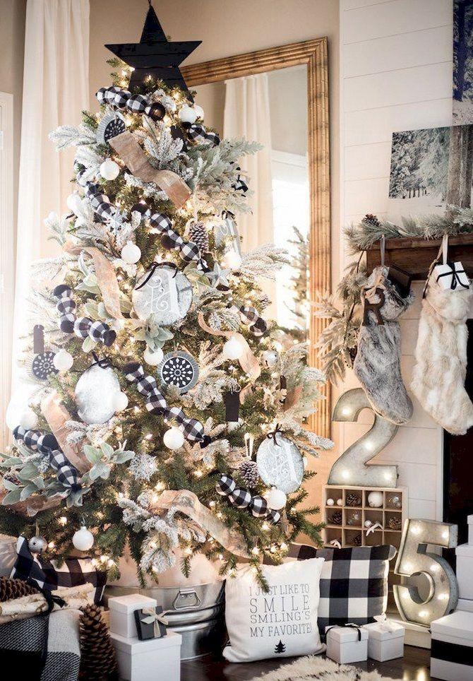 Как украсить елку в 2020 году: идеи стильного декора лесной красавицы 1