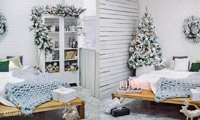 Как украсить комнату на Новый год 2021: лучшие идеи новогоднего декора 14