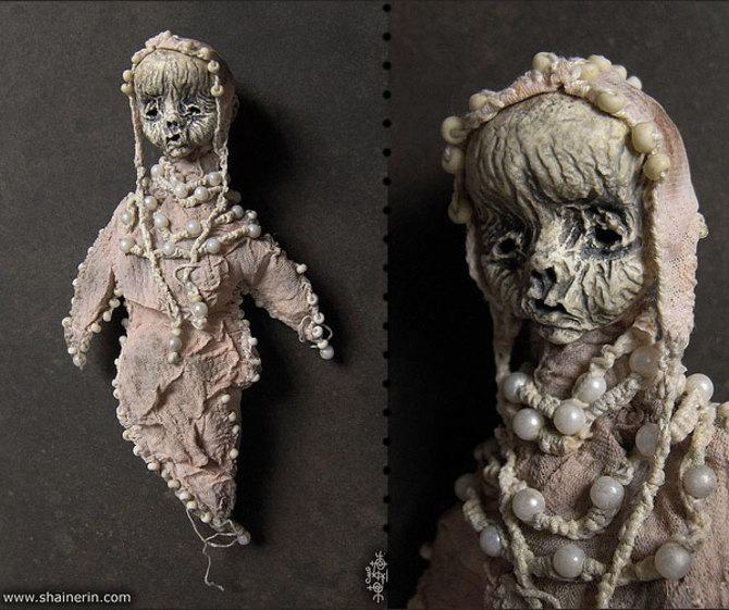 ужасные куклы от Художника Shain Air