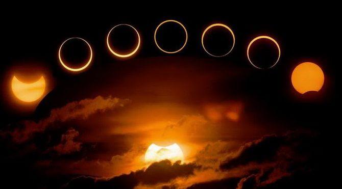 первое зимнее солнечное затмение