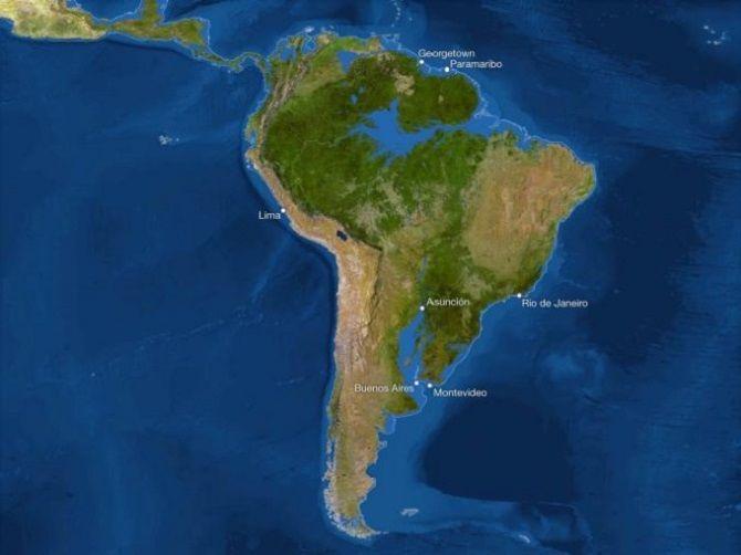 Глобальное потепление Южная Америка