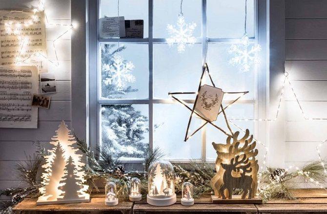 Как украсить комнату к Новому году без елки