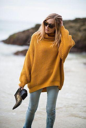женские свитера как носить