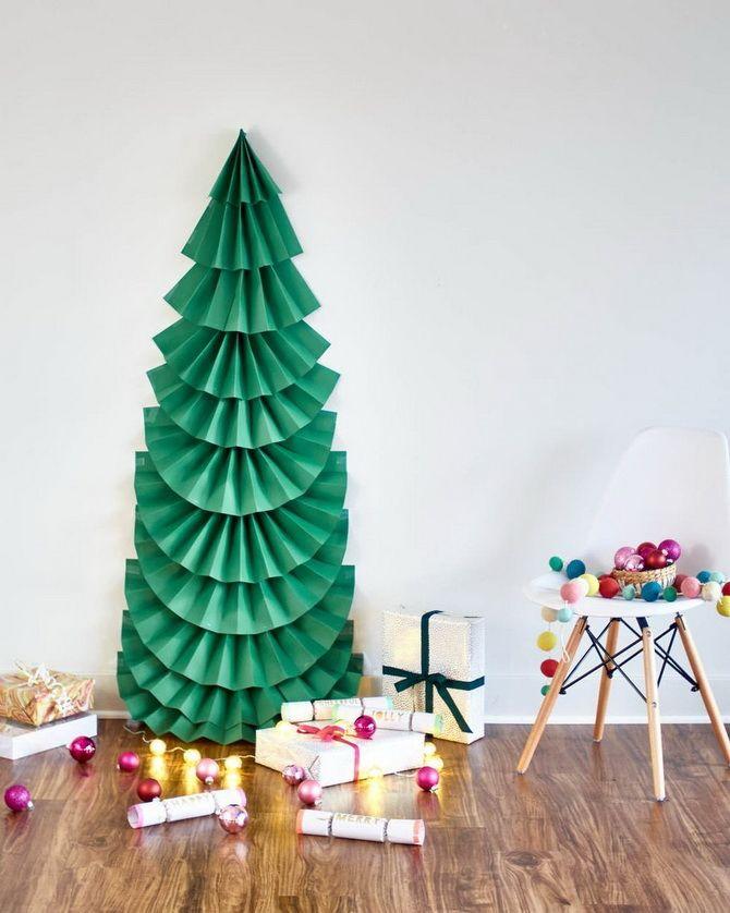 новогодняя елка  своими руками в школу