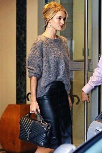 женский свитер мода