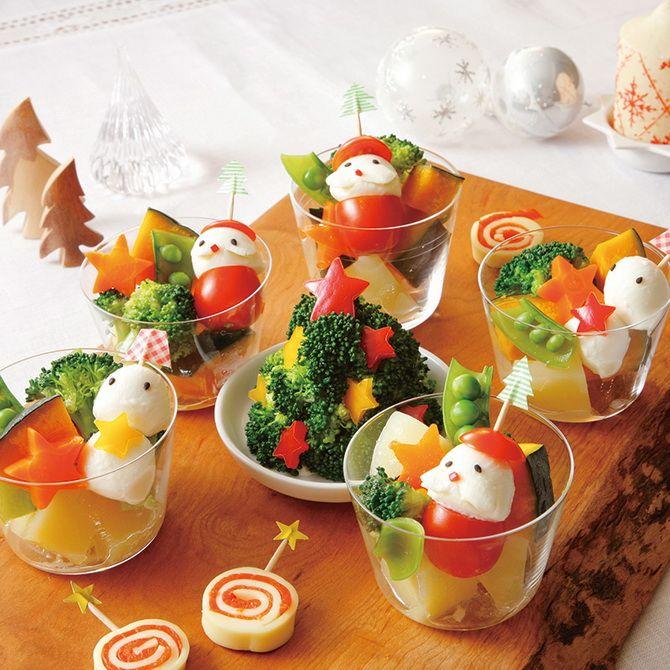 закуски на новогодний стол снеговики