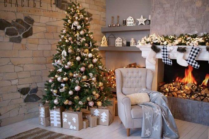 Як прикрасити кімнату на Новий рік 2021: кращі ідеї новорічного декору 1