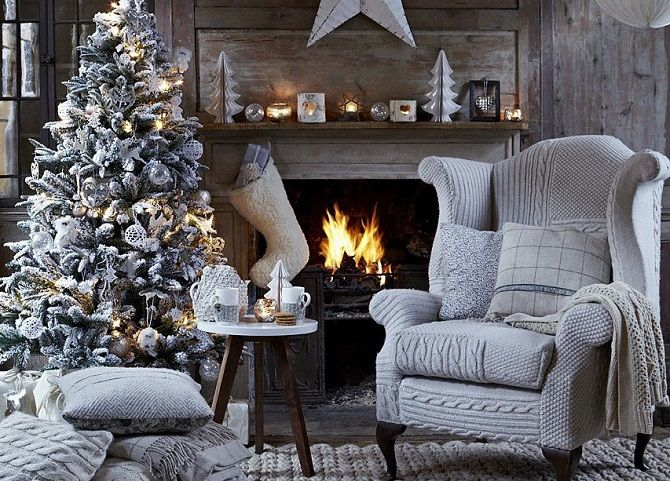 Як прикрасити кімнату на Новий рік 2021: кращі ідеї новорічного декору 23