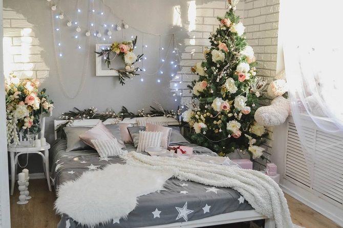 Как украсить комнату на Новый год 2021: лучшие идеи новогоднего декора 2