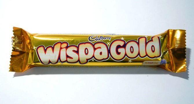 шоколад  Wispa Gold