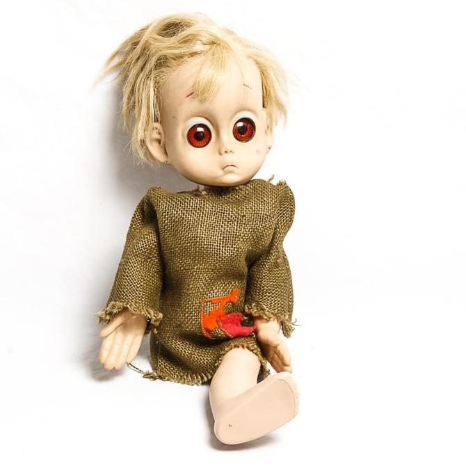 Little Miss No Name Doll  кукла-нищенка