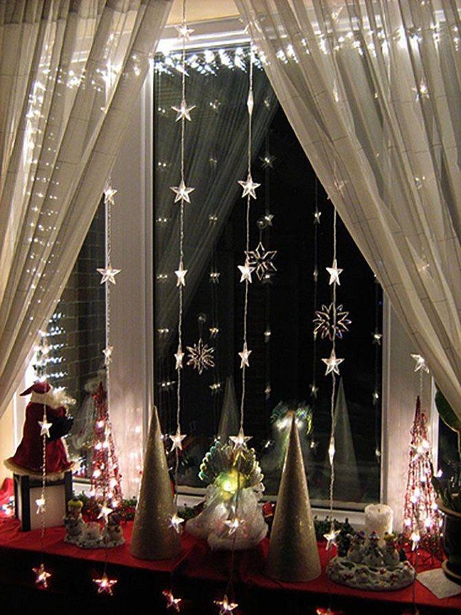 Як прикрасити кімнату на Новий рік 2021: кращі ідеї новорічного декору 5