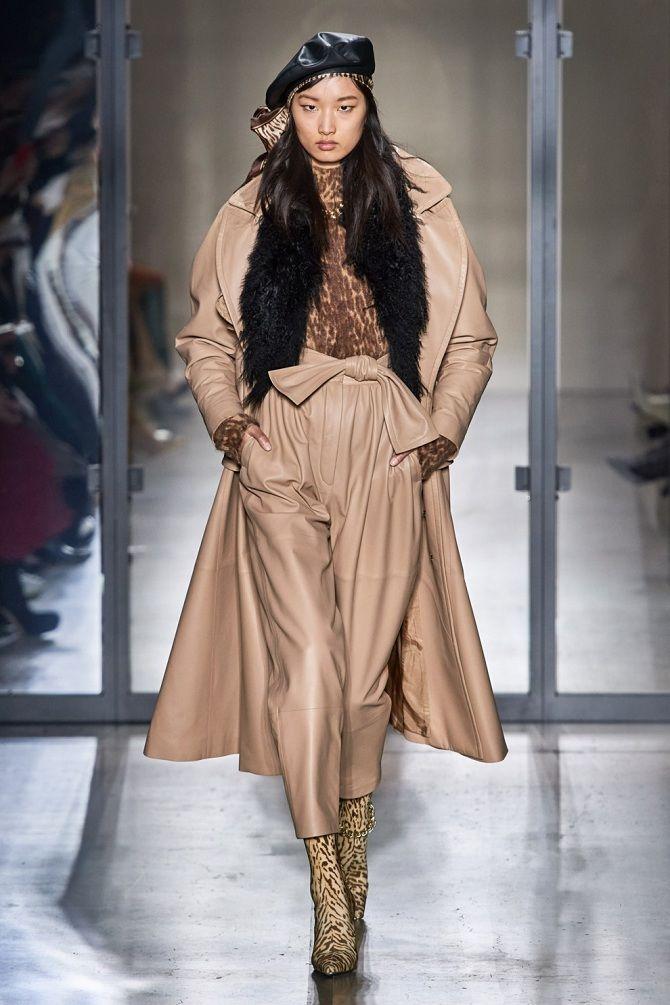 зимние Кожаные куртки и пальто  моды 2019-2020 года